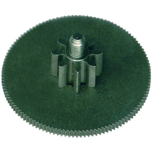 Wheel with a pinion 002